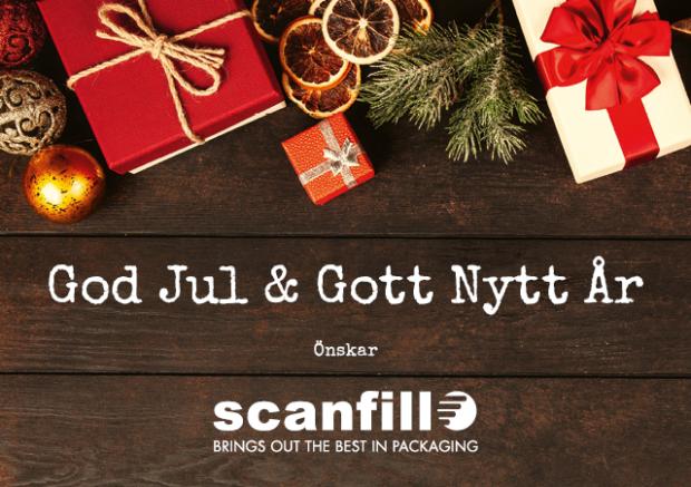 God Jul och Gott Nytt År från Scanfill