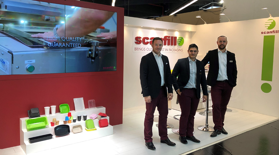 Thank you for visiting us at Fachpack 2019