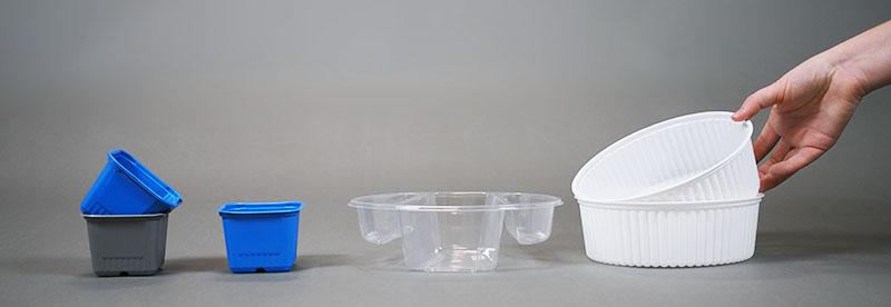 PS polystyren plastförpackningar-miljövänliga förpackningsmaterial